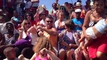Voyages de salsa et Carnaval à Cuba.A'l'aquarium ça danse la salsa juillet 2014