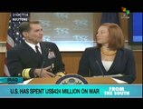 US has spent US$424 million on war against IS since August