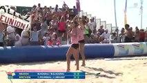 Beach Tennis 2014 : la Réunion s'impose chez les dames
