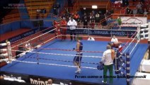 Boxer arrested for punching referee after losing fight in Croatia - YouTube