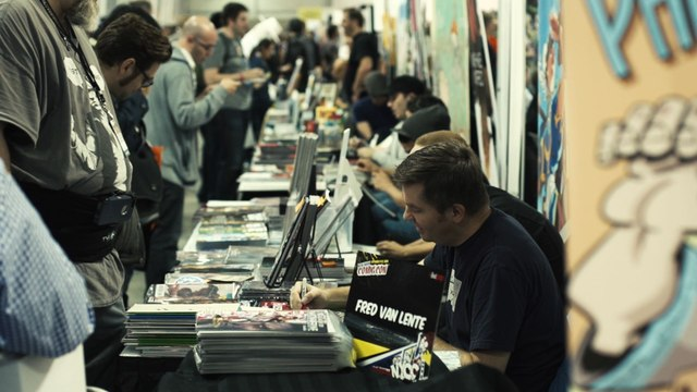 NYCC 2014: Artist Alley - The Heartbeat of Comic Books