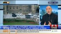 19H Ruth Elkrief: Retour sur la fusillade au Parlement canadien avec François Durpaire, Ulysse Gosset et Laurence Cros - 22/10