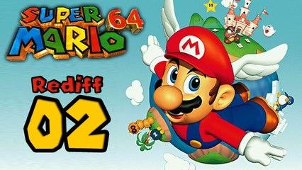 Live Speedrun Mario 64 (16 stars) : Le speedrun | 02 - Rediffusion