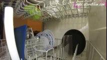 Une GoPro à l'intérieur d'un lave-vaisselle