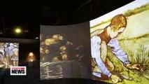 Modern Van Gogh exhibition in Seoul