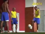 Football Skills and Tricks by Ronaldinho  Roberto Carlos  Robinho