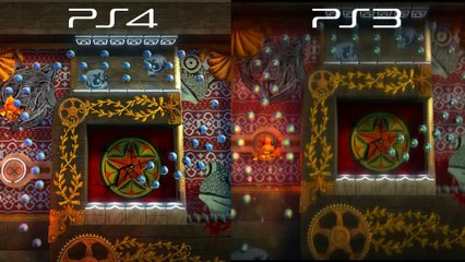 PS3 VS PS4 Graphics Comparison de LittleBigPlanet 3
