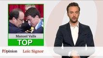Top Flop : Manuel Valls aussi drôle que François Hollande / Patrick Buisson flingue Nicolas Sarkozy