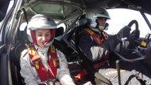 En embarquée avec le vainqueur de la Finale de la Coupe de France des Rallyes