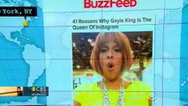 The Internet loves Gayle King's Instagram account