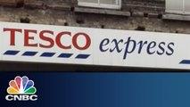 Tesco Profits Crash   Squawk Box   CNBC International