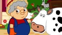La ferme de Papy Henri -comptine éducative-les animaux de la ferme