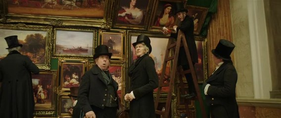 """MR. TURNER (Mike Leigh) """"Varnishing Day at the Royal Academy"""" (film clip)"""