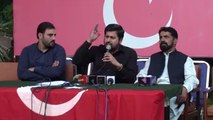 Fiaz Ul Hassan Chohan press conference replying... - PTIOfficialVideos