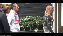 "Jay-Z checks guy for trying to holla at Beyonce ""Hey watch that""  - Jay-Z & Beyonce"