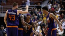 Suns' Isaiah Thomas Forces OT, Stares Down Floyd Mayweather After Shot