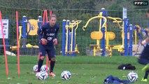 Equipe de France Féminine : l'entraînement des Bleues à Francfort