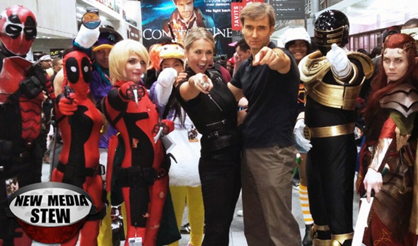 COMIC CON 2014 NYC Cosplay, Dance Party & Halloween - Guardians of the Galaxy, Batman & More