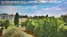 A vendre - Maison/villa - Uzes (30700) - 5 pièces - 90m²