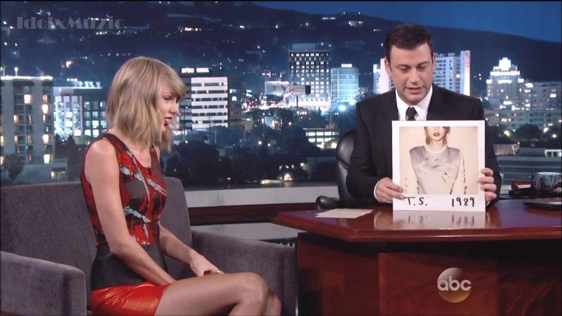 Taylor Swift - Interview - Jimmy Kimmel