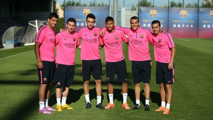 Six strikers ready for The Clásico