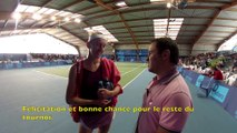 Internationaux Féminins de la Vienne 2014. Interview Tereza Smitkova, 84 WTA, par Michaël Duranceau