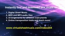 Johann Sebastian Bach's Toccata and Fugue in D minor BWV 565 sheet music for Organ Solo - Video Score
