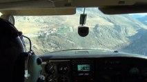 Altiport Alpe d'Huez en Cessna 182
