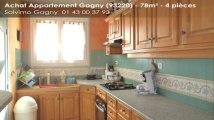 A vendre - appartement - Gagny (93220) - 4 pièces - 78m²