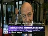 Traian Băsescu, la Bruxelles - Ucraina nu poate cere bani zilnic pentru achitarea datoriilor la gaz