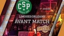 Avant-Match - J05 - Orléans se déplace à Limoges