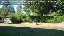 A vendre - maison - Biarritz (64200) - 9 pièces - 220m²