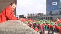 Novembre et décembre 2014: grèves et manifestations au programme