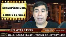 Sunday Free NFL Picks Betting Predictions Odds Point Spread Previews 10-26-2014