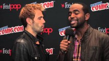 Matt Ryan Raps About Constantine Series - RAP AMBUSH!
