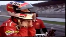 Fiat F1 97 vs Ferrari 550 Maranello With Michael Schumacher qui rattrape tout le monde et gagne