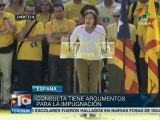 Catalan political parties work out differences