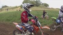 Stage Motocross à Plouasne le 25.10.14 avec Théo Roptin