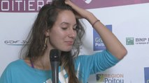 Interview Océane Dodin Internationaux Féminins de la Vienne 2014