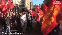 Cgil, la partenza del corteo a Roma - Il Fatto Quotidiano