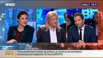 BFM Politique: L'interview BFM Business de Benoît Hamon par Hedwige Chevrillon (2/6) - 26/10