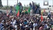 Μ. Ανατολή: Συγκρούσεις στην κηδεία 14χρονου στη Δυτική Όχθη.