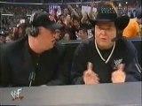 Vince McMahon, Trish Status, The Radicalz, Jim Ross & Paul Heyman, William Regal & Kurt Angle Segments [WWF Raw 03.12.2001]