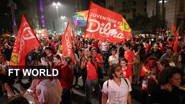 Brazilians react to election results