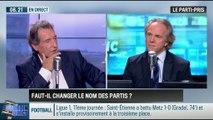 """Le parti pris d'Hervé Gattegno : """"Plutôt que de changer de nom, les partis devraient changer d'époque !"""" - 27/10"""