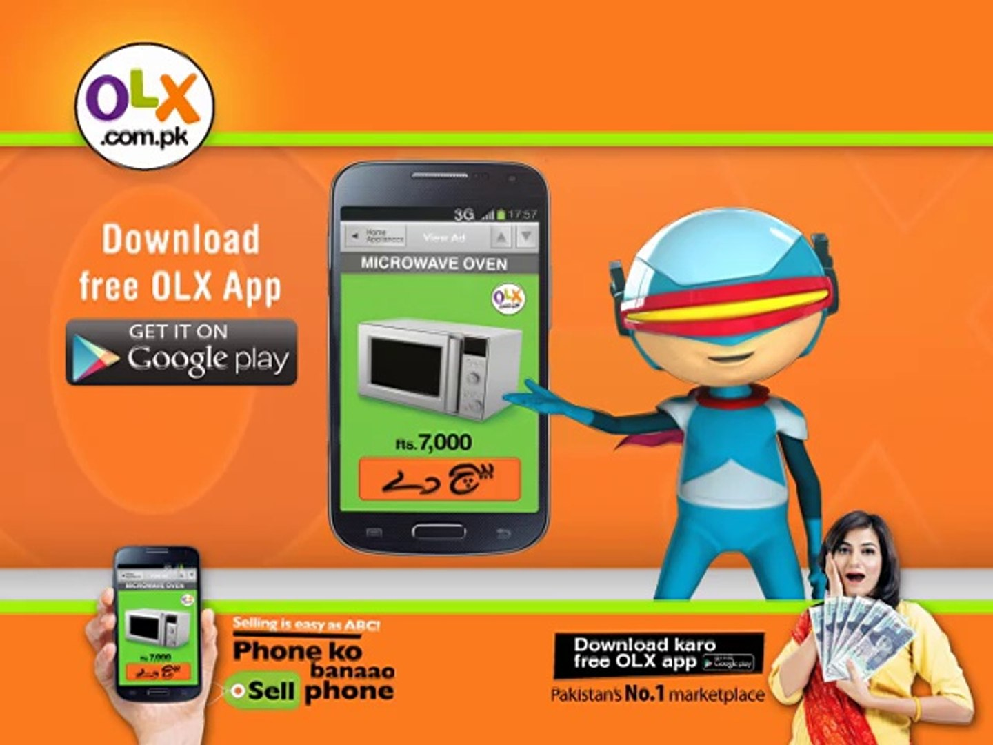 Easy to sell like ABC using OLX New Mobile App