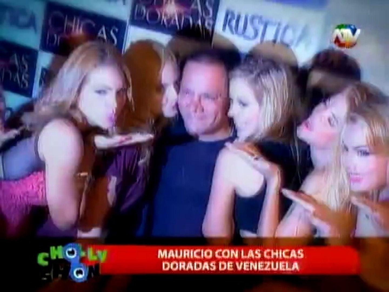 'Las Chicas Doradas' de Venezuela presentaron atrevido show