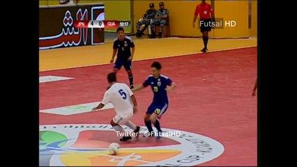 Quel geste de Yuki Murota (Japan) vs Guatemala en futsal !