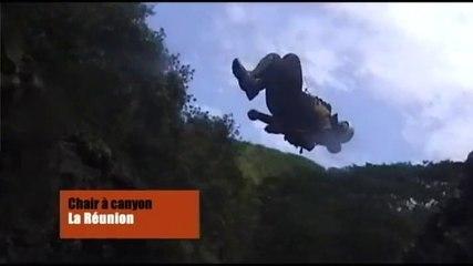 Canyoning à l'île de la Réunion