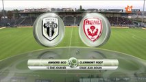 ANGERS SCO / CLERMONT - Rediffusion du match Angers SCO - Clermont Football du 24 octobre 2014